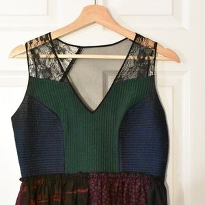 Anthropologie Montage Midi Dress by Niki Mahajan